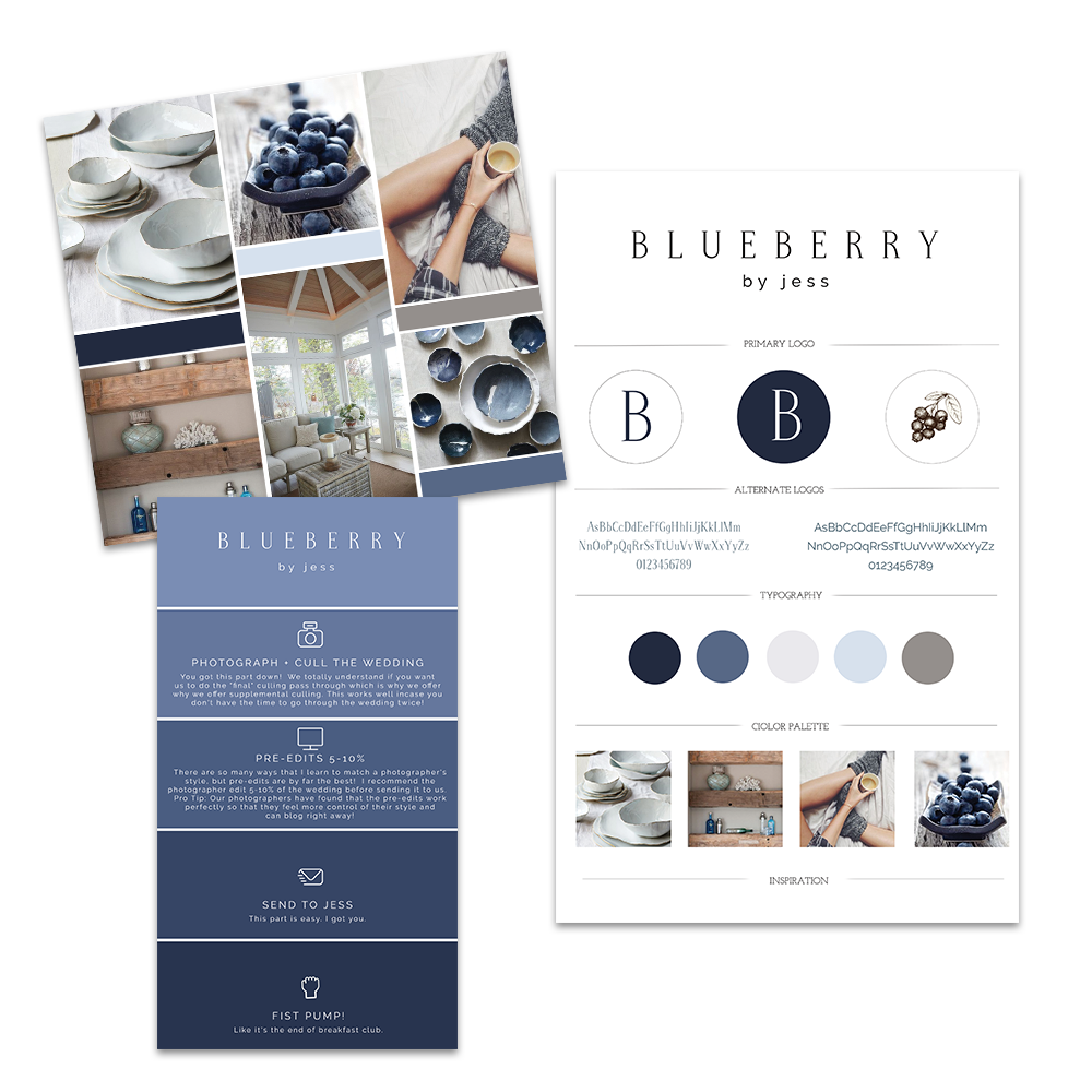 Blueberry by Jess